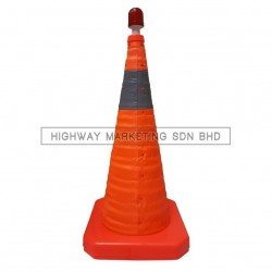 Hi-Safe HSF-40-2005 Foldable Safety Traffic Road Cone