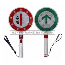 Hi-Safe LED Stop and Go Traffic Baton