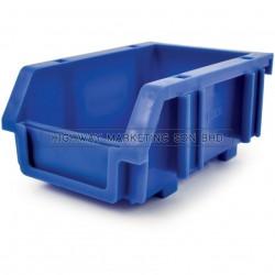 Matlock Blue Plastic Storage Bin