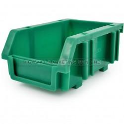 Matlock Green Plastic Storage Bin