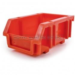 Matlock Red Plastic Storage Bin