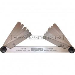 Kennedy KEN5180790K 18 Blade Double End Feeler Gauge
