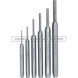 Kennedy KEN5182420K Standard Length Inserted Pin Punches Set of 6