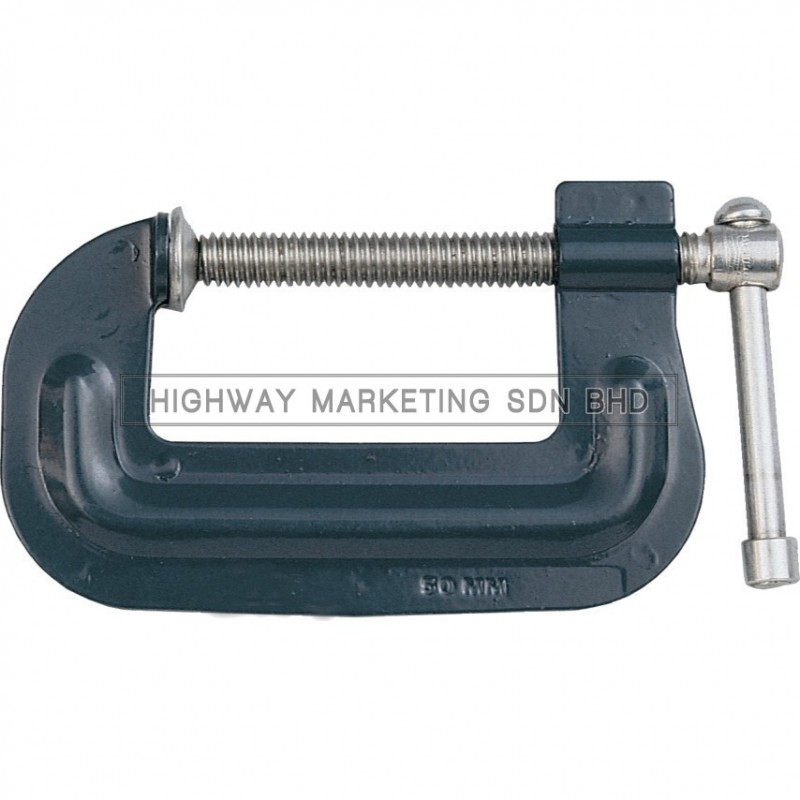 Kennedy Lightweight Pressed Steel G-Clamps