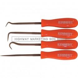 Kennedy KEN5182900K Miniature Hook & Pick Set of 4