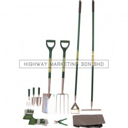 Rutland RTL5229120K Premier Stainless Steel Gardening Set of 10pcs