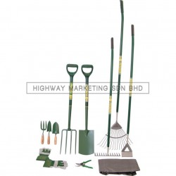 Rutland RTL5229100K Country Carbon Steel Gardening Set of 11pcs