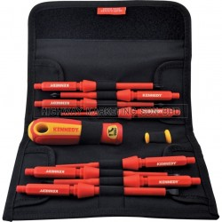 Kennedy KEN5725870K Insulated Interchangeable Screwdriver Set of 10