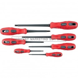 Kennedy KEN5728000K 1000V Dual Grip VDE Screwdriver Set of 7