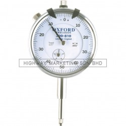 Oxford OXD3008100K Easy Read Dial Gauges Plunger Type 5mmx0.01mmx0-50-0