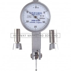 "Oxford OXD3009010K Easy Read Dial Test Indicator 0.03x0.0005""x0-15-0"