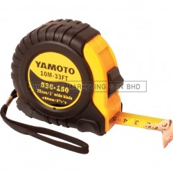 Yamoto YMT5361440K 3m Rubber Grip Tape Measure