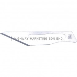 Kennedy KEN5377015K No.10A Non-Sterile Blades with No.3 Type Handle