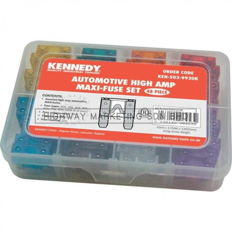 Kennedy KEN5039920K High Amp Maxi Fuse Set