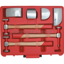 Kennedy KEN5037650K 7pcs Panel Beating Set