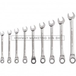 Kennedy KEN5823990K 10-19mm Professional Ratchet Combination Spanner Set of 9