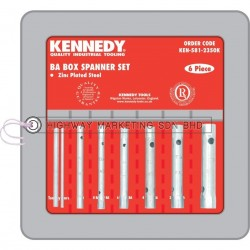 Kennedy KEN5812350K 0-10BA Box Spanner Set of 6