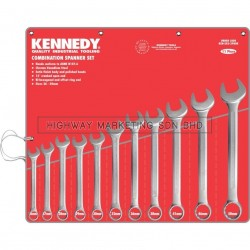 Kennedy KEN5822980K 26-50mm Industrial Combination Spanner Set of 11
