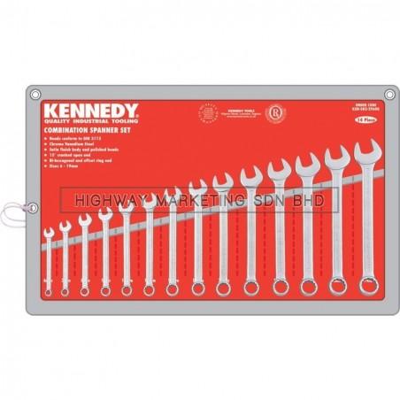 Kennedy KEN5822960K 6-19mm Industrial Combination Spanner Set of 14