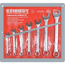 "Kennedy KEN5822950K 1/8""-1/2"" Industrial Combination Spanner Set of 7"
