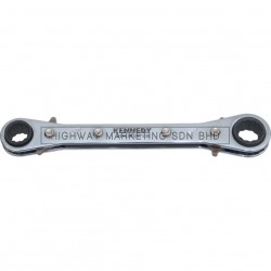 Kennedy Reversible Ratchet Ring Wrenches Metric