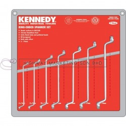 Kennedy KEN5821960K 6-19mm Double Ended Ring Spanner Set of 7