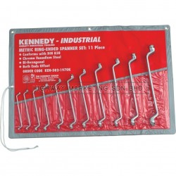 Kennedy KEN5821970K 6-32mm Double Ended Ring Spanner Set of 11