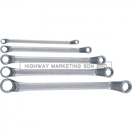 "Kennedy KEN5821920K 1/4""-7/8"" Double Ended Ring Spanner Set of 5"