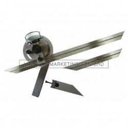 Temo TMME25-10001M 0-360° Universal Bevel Protractor