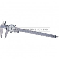 "Oxford OXD3306080K 8"" Dial Caliper Reading 0.001"""