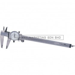Oxford OXD3306200K 200mm Dial Caliper Reading 0.05mm