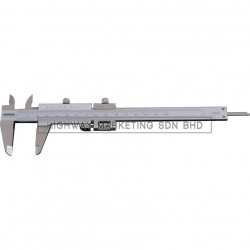 "Kennedy KEN3302060K 5""/130mm Fine Adjustment Vernier Caliper"