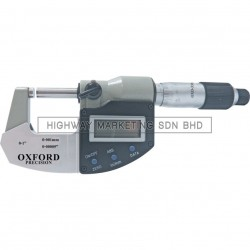 Oxford OXD3316110K 0-25mm External Digital Micrometer
