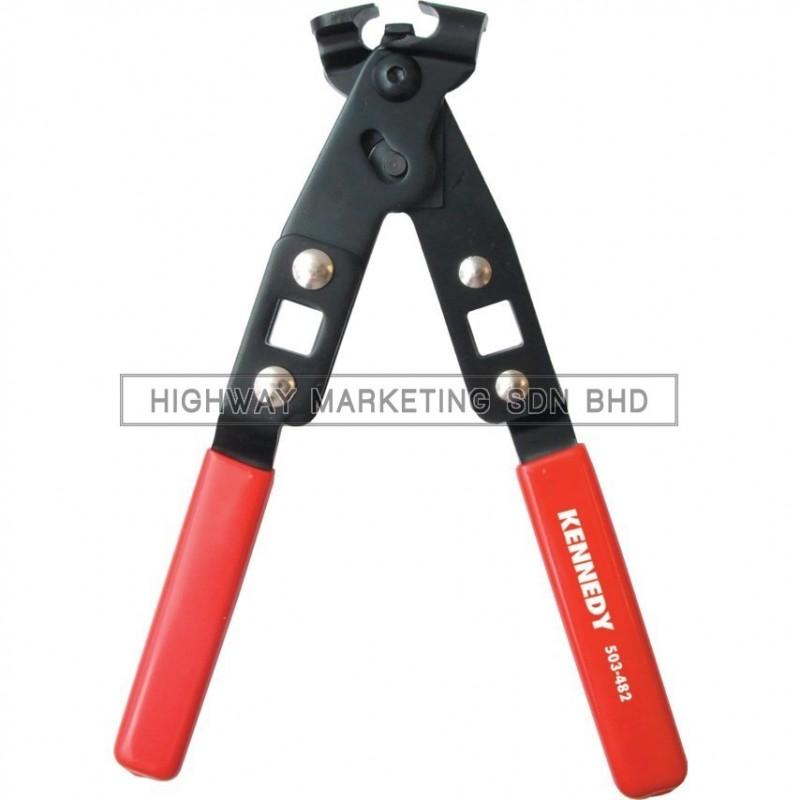 Kennedy KEN5034820K Extra Heavy Duty Ear Type Clip Plier