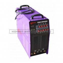 Weldone TIG 315P AC DC Inverter Square Wave AC DC Pulse TIG Welding Machine