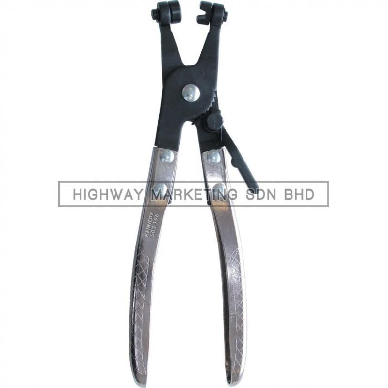 Kennedy KEN5031960K Angled Flat Band Hose Clamp Plier