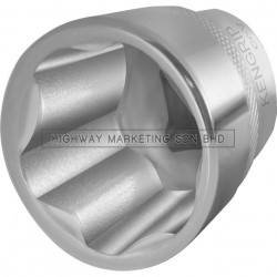 "Kennedy KEN5826878K 15mm Ken-Grip Socket 1/2"" SQ DR"