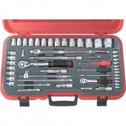 Kennedy KEN5824899K 4-36mm Metric Socket Set of 50pcs