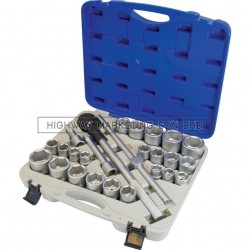 "Senator SEN5829320K 3/4"" SQ DR MM/AF Socket Set of 26pcs"