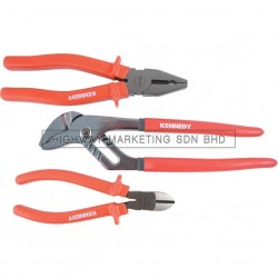 Kennedy KEN5589840K Heavy Duty CV Plier & Diagonal Cutter Set of 3