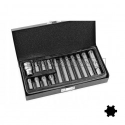 Yato YT-0419 Ribe Screwdriver Bit Set of 15pcs
