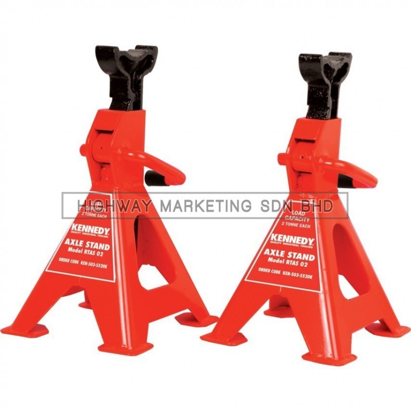 Kennedy KEN5035520K 4 Ton Ratcheting Axle Stands