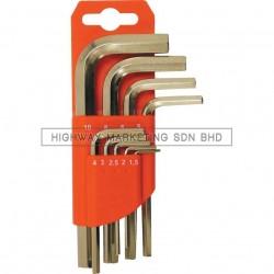 kennedy KEN6017990K 1.5-10mm CV Hexagon Key Set of 9pcs