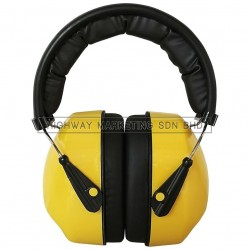 Hi-Safe HSF-40-0706 Yellow Earmuff 25dB