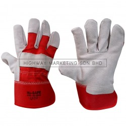 Hi-Safe HSF-40-0980 Semi Leather Glove