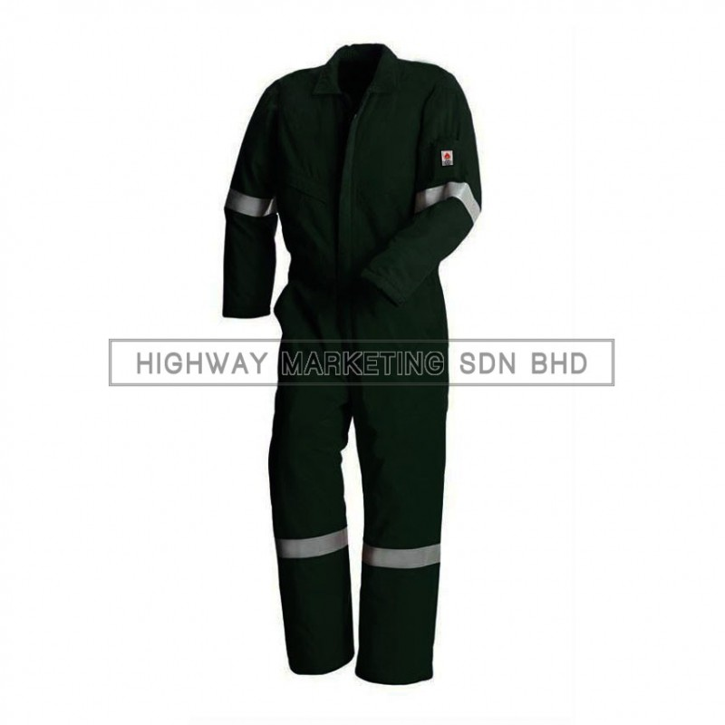 Supersonic Flame Retardant/Fire Resistant Coverall