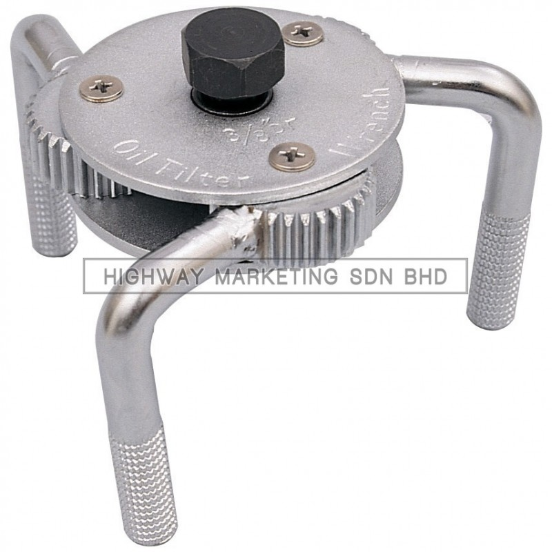 Kennedy KEN5031800K 3 Jaw Oil Filter Wrench