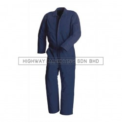 Supersonic Safety Non-Reflective Coverall Dark Blue