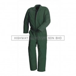 Supersonic Safety Non-Reflective Coverall Dark Green