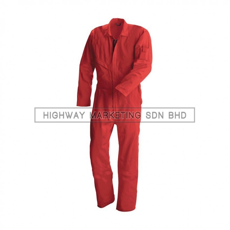 Supersonic Safety Non-Reflective Coverall